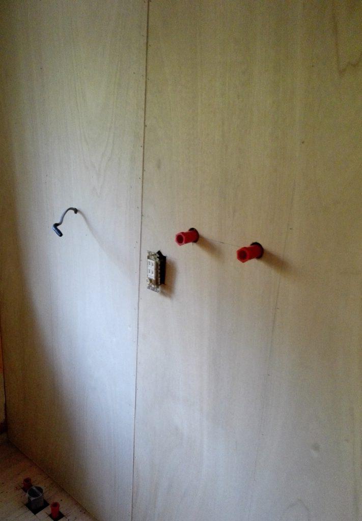 壁 仕上げ前