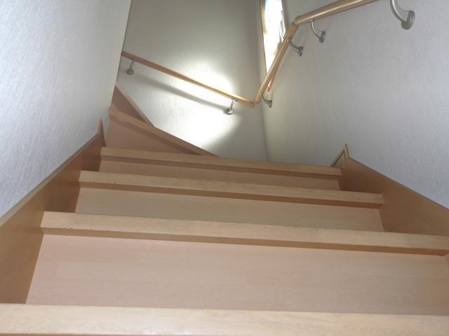 2階から1階の作業