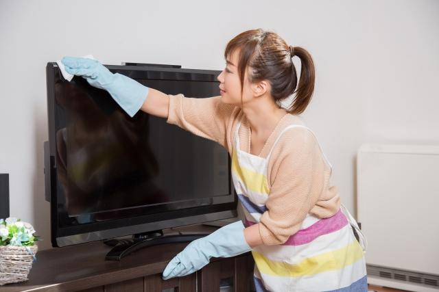 自宅の掃除